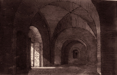 Interno del Mausoleo di Teodorico