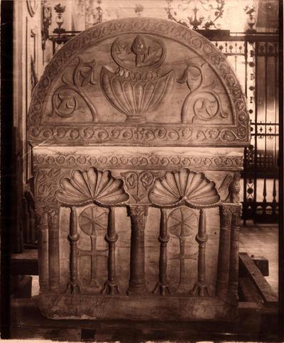 Ravenna, Duomo, Sarcofago di San Barbaziano, fianco sinistro