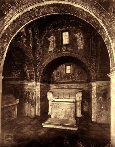 Ravenna, Mausoleo di Galla Placidia, interno