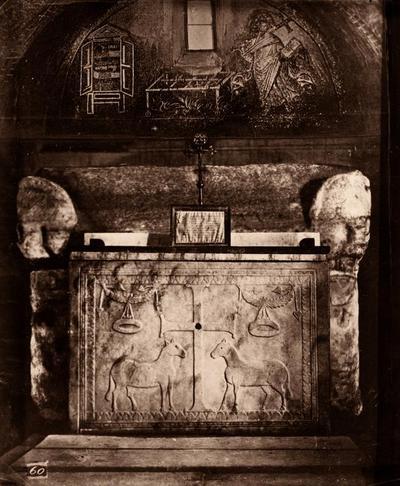 Ravenna, Basilica di San Vitale, Altare a cassa