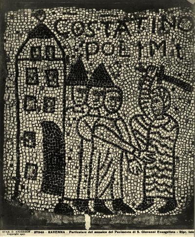 Ravenna, Basilica di San Giovanni Evangelista, Presa di Costantinopoli