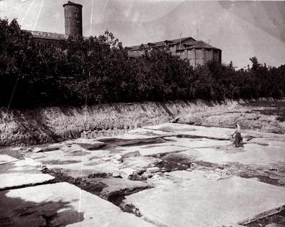 Ravenna, Scavi del Palazzo di Teodorico (1908-1914)