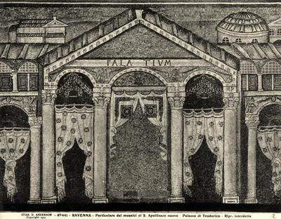 Ravenna, Basilica di Sant'Apollinare Nuovo, Palazzo di Teodorico