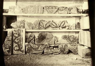 Ravenna, Soprintendenza Archeologia, Belle Arti e Paesaggio, Frammenti di mosaico pavimentale dalla Basilica di San Vitale