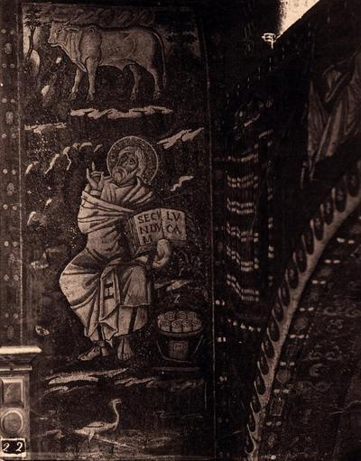 Ravenna, Basilica di San Vitale, San Luca Evangelista