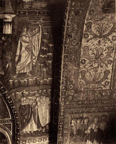 Ravenna, Basilica di San Vitale, Mosè riceve la Legge