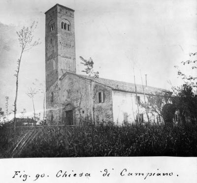 Campiano (Ravenna), Pieve di San Cassiano in Decimo