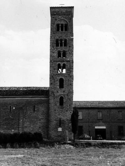 Campiano (Ravenna), Pieve di San Cassiano in Decimo, Campanile