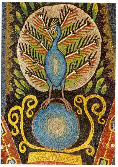 Ravenna, Basilica di San Vitale, Pavone