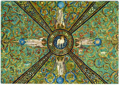 Ravenna, Basilica di San Vitale, Volta a crociera