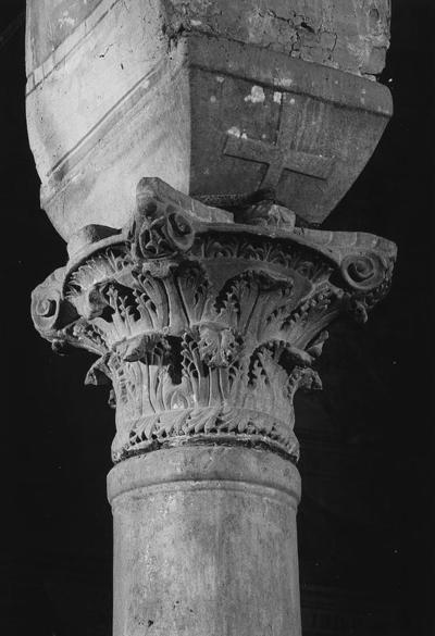 Abbazia di Pomposa, Capitello composito