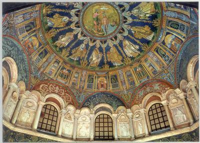 Ravenna, Battistero Neoniano, Cupola
