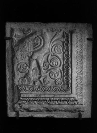 Ravenna, Museo Nazionale, Frammento di pluteo