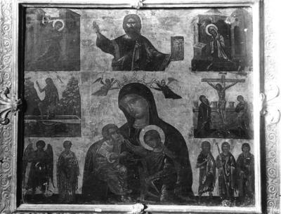 Ravenna, Museo Nazionale, Cristo Pantocratore e Madonna Galaktotrophousa