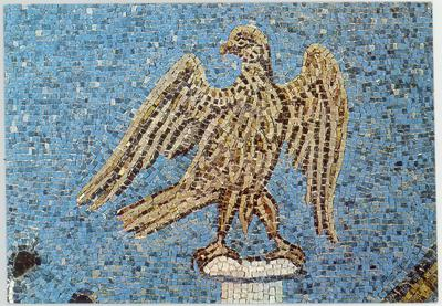 Ravenna, Basilica di Sant'Apollinare in Classe, La consegna dei privilegi, particolare