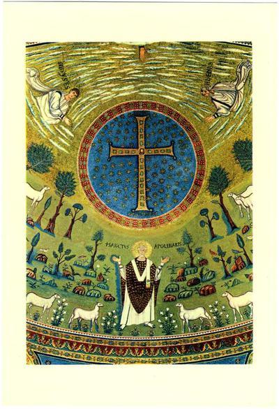 Ravenna, Basilica di Sant'Apollinare in Classe, Trasfigurazione, Sant'Apollinare