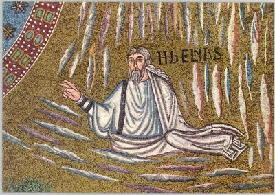 Ravenna, Basilica di Sant'Apollinare in Classe, Trasfigurazione, Profeta Elia