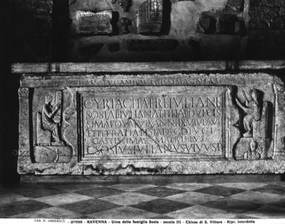 Ravenna, Museo Nazionale, Sarcofago della famiglia Sosia