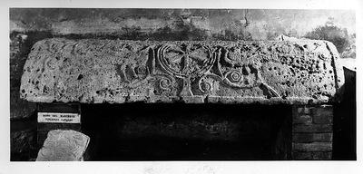 Ravenna, Museo Nazionale, Coperchio di sarcofago
