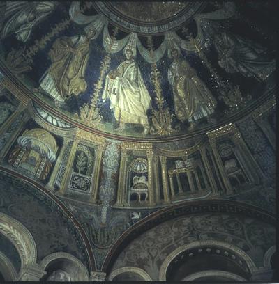 Ravenna, Battistero Neoniano, Corteo degli Apostoli