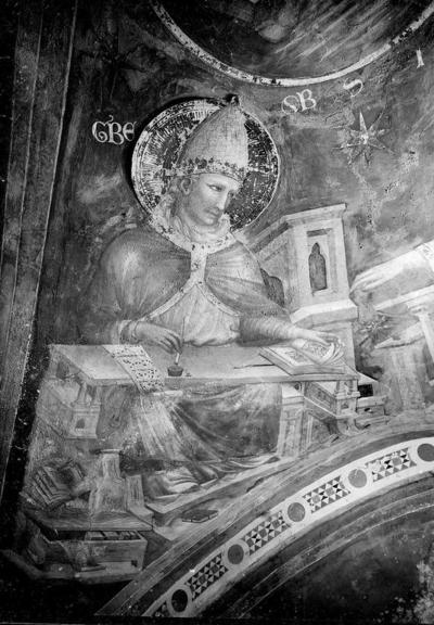 Pietro da Rimini, San Gregorio Magno