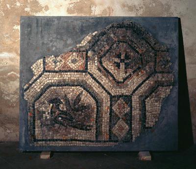 Ravenna, Museo Nazionale, Frammento di mosaico pavimentale