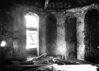 Ravenna, Torre Salustra, interno (prima dei restauri)