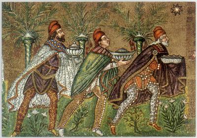 Ravenna, Basilica di Sant'Apollinare Nuovo, Re magi