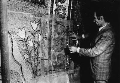 Ravenna, Basilica di Sant'Apollinare in Classe, Restauro dei mosaici absidali (1973)