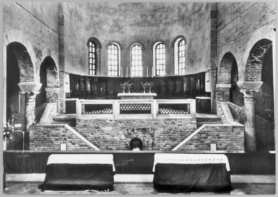 Ravenna, Basilica di San Francesco, Interno
