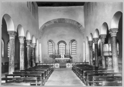 Ravenna, Basilica dello Spirito Santo, interno