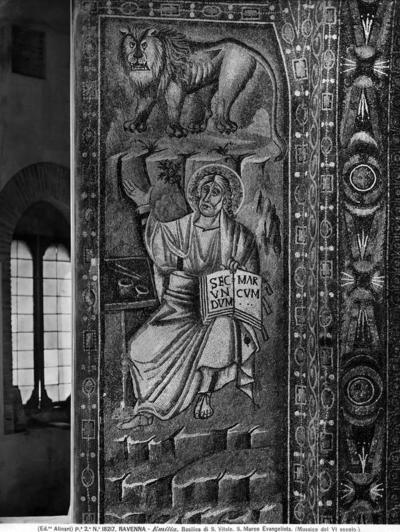 Ravenna, Basilica di San Vitale, San Marco Evangelista