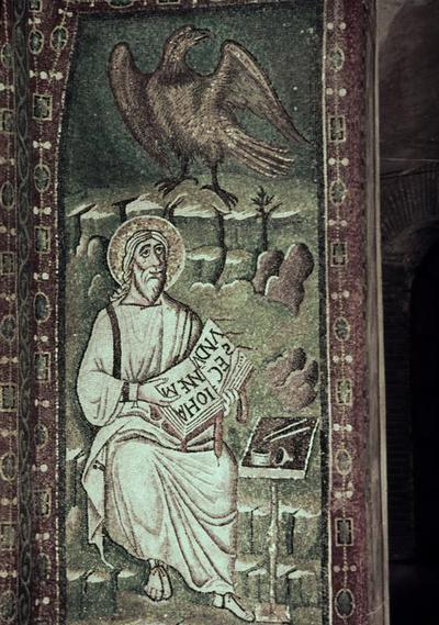 Ravenna, Basilica di San Vitale, San Giovanni Evangelista