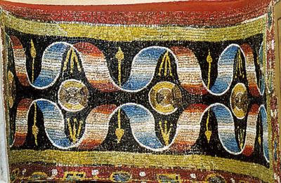 Ravenna, Basilica di San Vitale, Sottarco della trifora