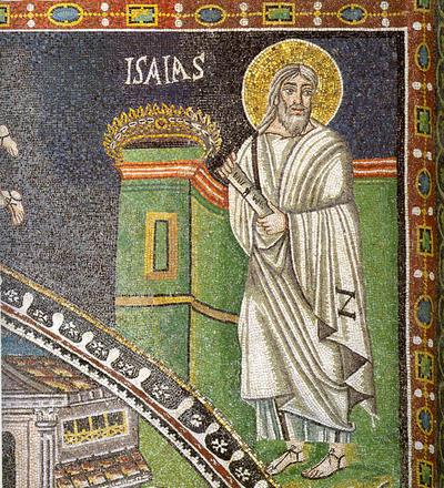 Ravenna, Basilica di San Vitale, Profeta Isaia