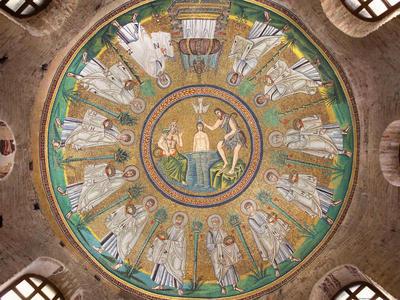 Ravenna, Battistero degli Ariani, Cupola