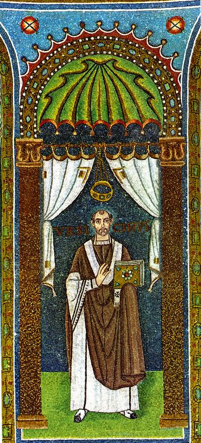 Ravenna, Basilica di Sant'Apollinare in Classe, Vescovo Ursicino
