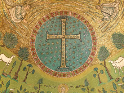 Ravenna, Basilica di Sant'Apollinare in Classe, Trasfigurazione