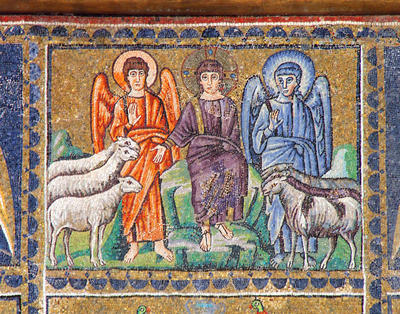 Ravenna, Basilica di Sant'Apollinare Nuovo, La parabola del regno di Dio e del Giudizio finale