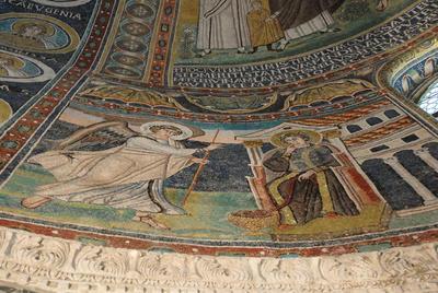 Parenzo, Basilica Eufrasiana, Annunciazione
