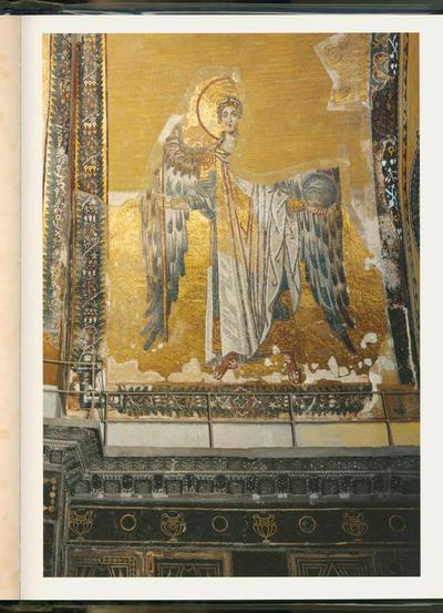 Istanbul, Basilica di Santa Sofia, Arcangelo Gabriele