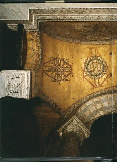 Istanbul, Basilica di Santa Sofia, Volta a botte, particolare