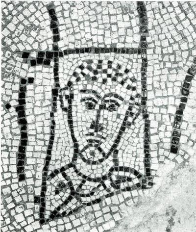 Ravenna, Il cosiddetto Palazzo di Teodorico, Pavimento musivo dell'ambiente C