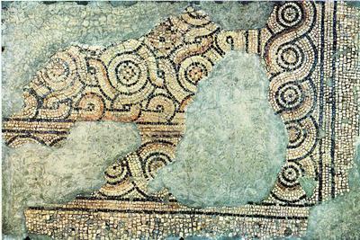 Ravenna, Il cosiddetto Palazzo di Teodorico, Pavimento musivo dell'ambiente I 3