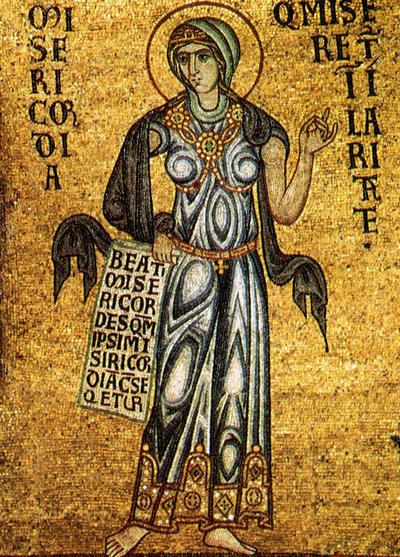 Venezia, Basilica di San Marco, Cupola dell'Ascensione, Misericordia