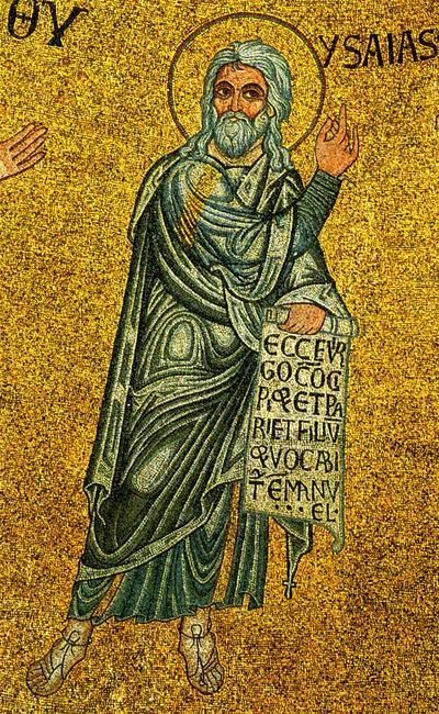 Venezia, Basilica di San Marco, Cupola dell'Emmanuele, Profeta Isaia