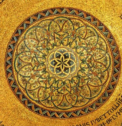 Venezia, Basilica di San Marco, Cupola di Mosè, Rosone