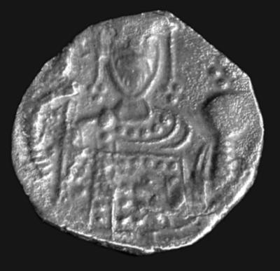 Bank of Cyprus Cultural Foundation: Coin of Alexius I Comnenus (1081-1118) or John II Comnenus (1118-1134)