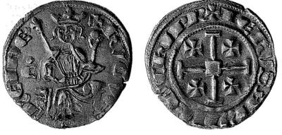 Bank of Cyprus Cultural Foundation: Coin of Hugh IV (1324-1359) 1999-03-24