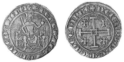 Bank of Cyprus Cultural Foundation: Coin of Hugh IV (1324-1359) 1965-01-14
